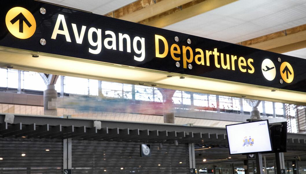 Gardermoen lufthavn. Foto: Gorm Kallestad NTB Scanpix