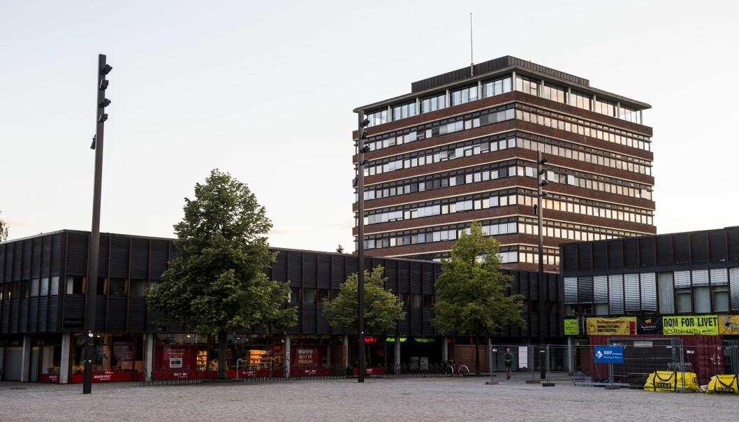 Fra Universitetet i Oslo på Blindern. Foto: NTB Scanpix.
