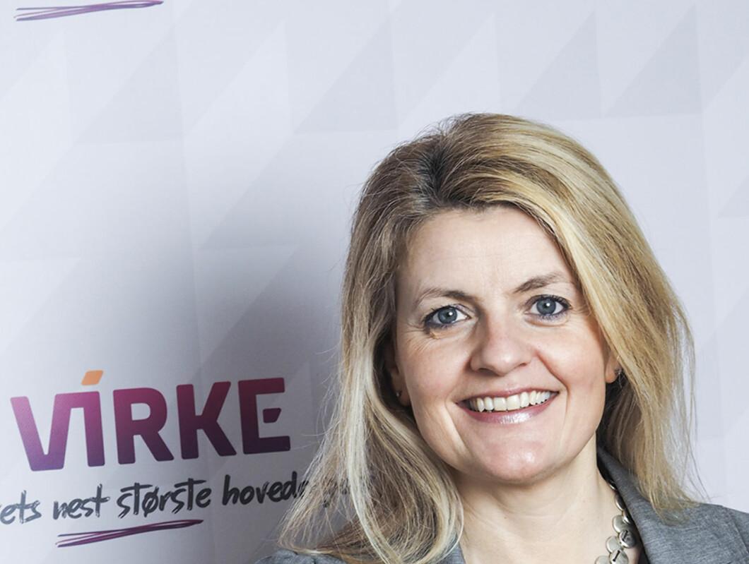 Inger-Lise Blyverket er Virkes direktør for politikk og forhandling. Foto: Virke