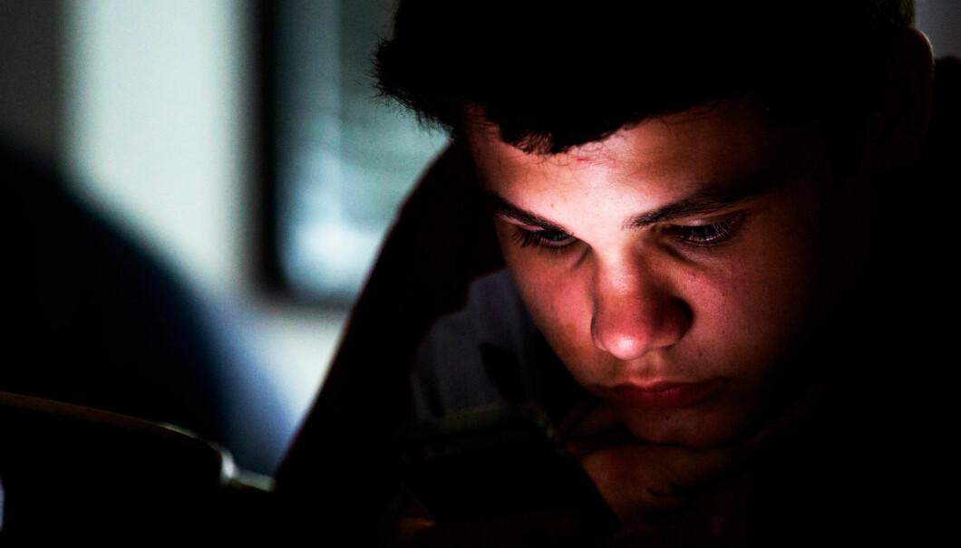"""Illustrasjonsfoto, """"texting"""". Foto: David Vespoli, Flickr/Creative commons"""