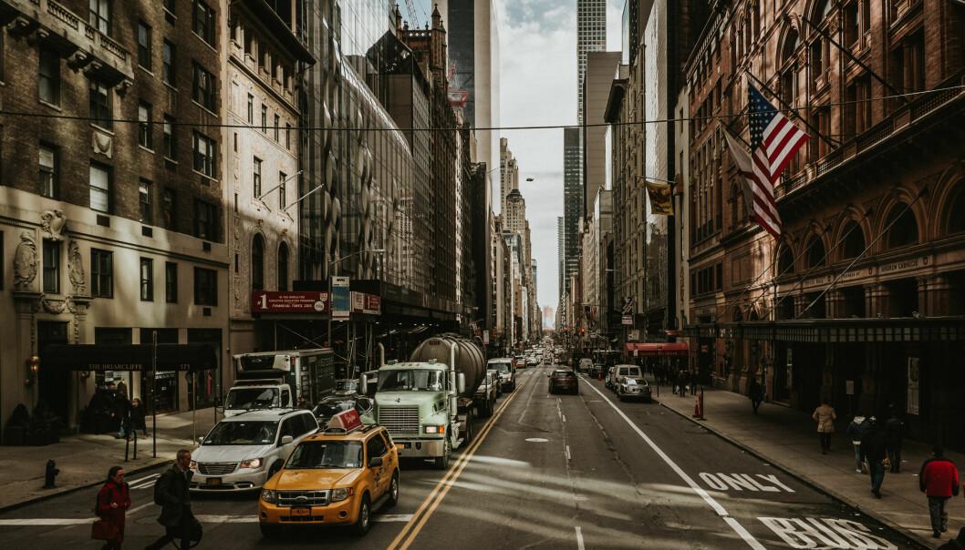 Byer som vinner og byer som taper: New York blir en av vinnerne i fremtidens arbeidsmarked. Foto: Jörg Schubert/Flickr/CreativeCommons
