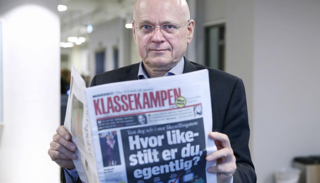 Bjørgulv Braanen og Klassekampen. Foto: NTB Scanpix.