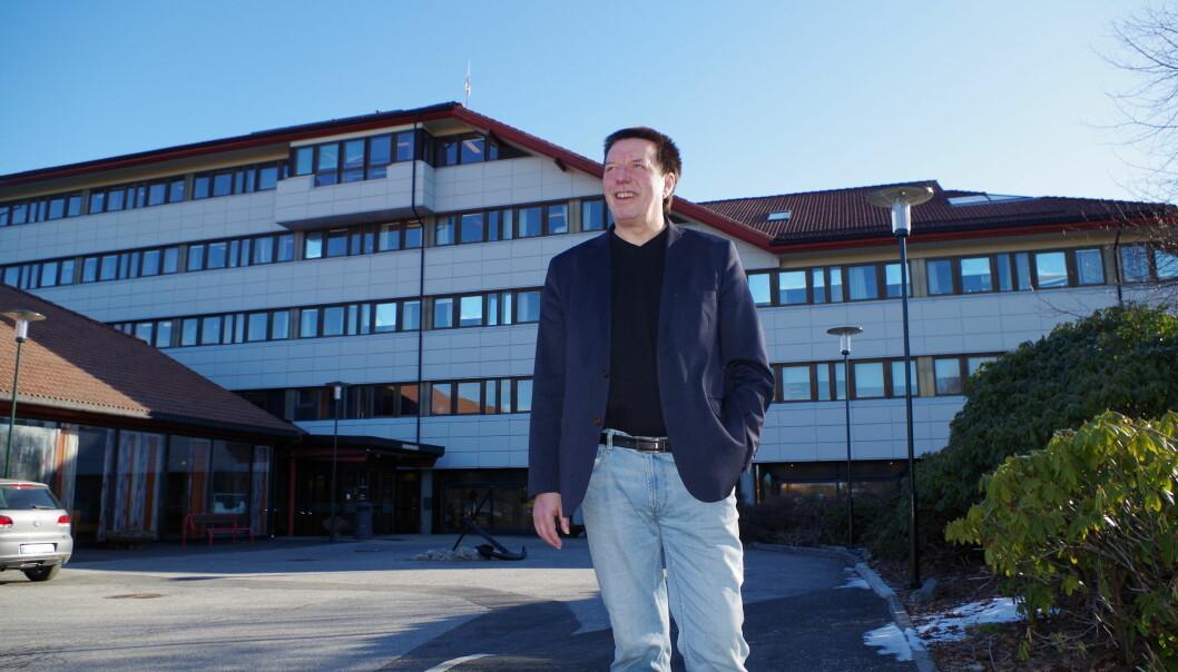 Fornøyd: - Flyktninger gir kommunen er verdiskapning vi ellers ikke ville hatt råd til, sier rådmann Steinar Nesse i Fjell kommune.