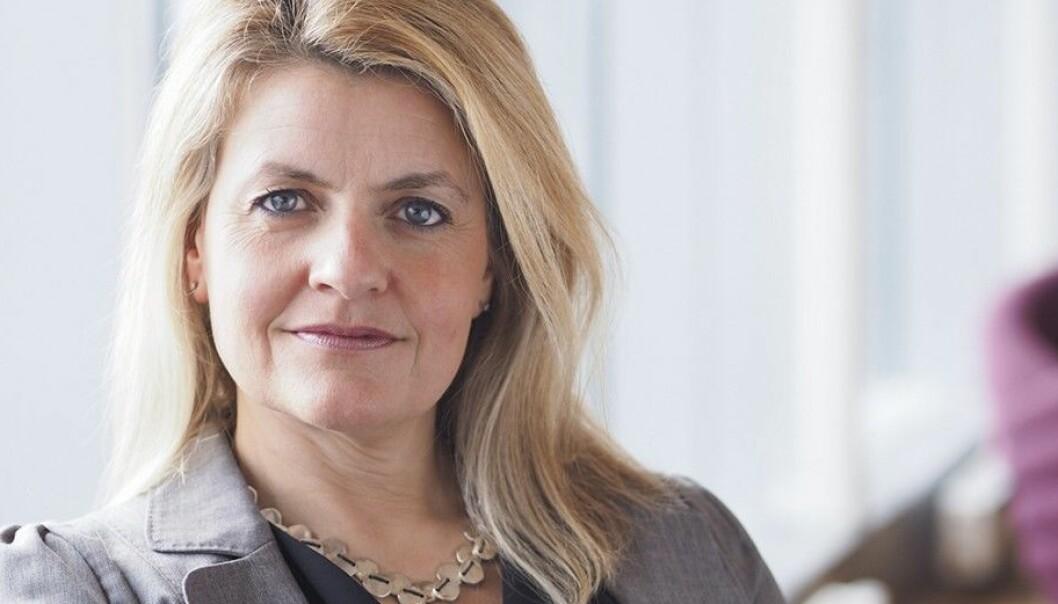 -Teknologi endrer hele grunnlaget for jobbene våre, sier Inger Lise Blyverket, direktør i Virke.  Foto: Virke