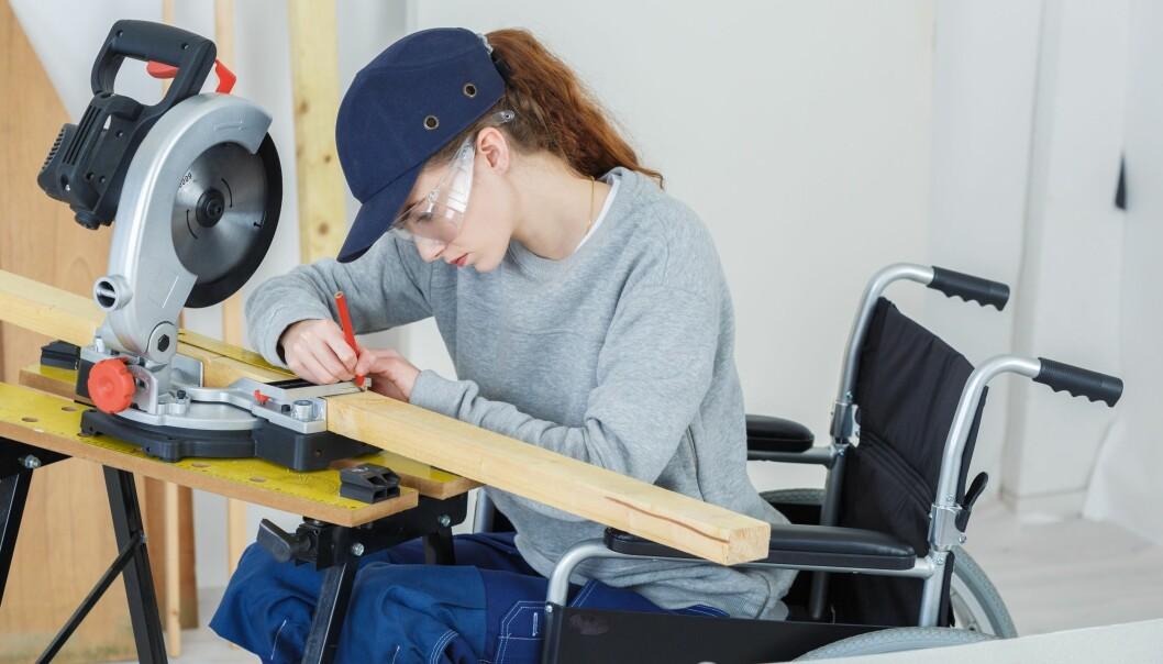 Svenske småbedrifter er bedre enn det offentlige i å ansatte folk med nedsatt funksjonsevne. Illustrasjonsfoto: Shutterstock