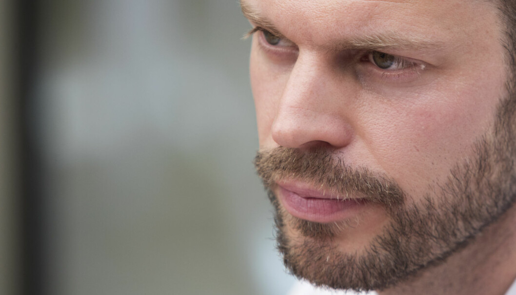 Med et nytt lovforslag vil Rødt-leder Bjørnar Moxnes stoppe arbeidslivaktører som unngår regelverket . Foto: Terje Bendiksby, Scanpix