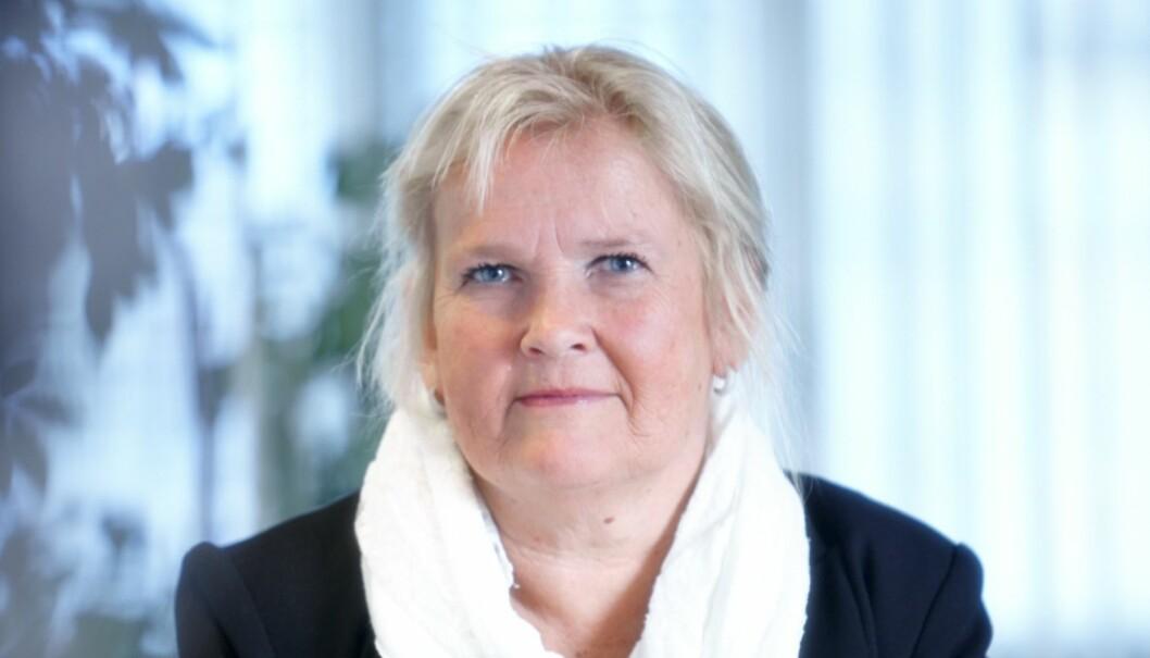Lizzie Ruud Thorkildsen, forbundsleder i delta, vil ta opp kampen mot økt bruk av deltid. Foto: Kim Holthe.