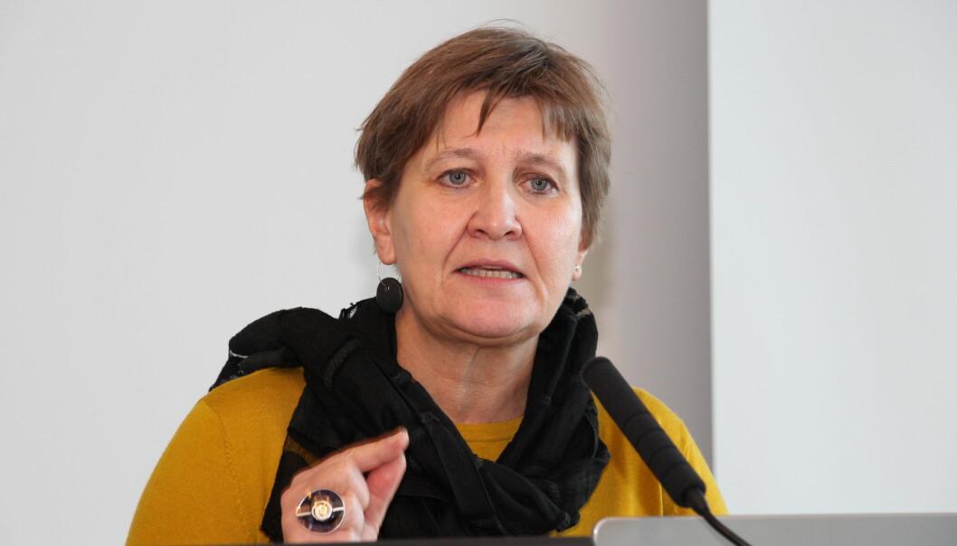 Forbundsleder Mette Nord i Fagforbundet forventer å nå frem med søksmålet mot Aleris, nå Heimta. Foto: Kari-Sofie Jenssen.